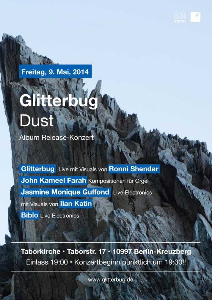 Dust Glitterbug concert live show