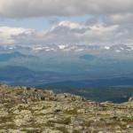 overlooking Jotunheimen